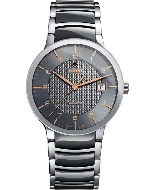 dong ho nam RADO Centrix Grey Automatic Watch 38mm