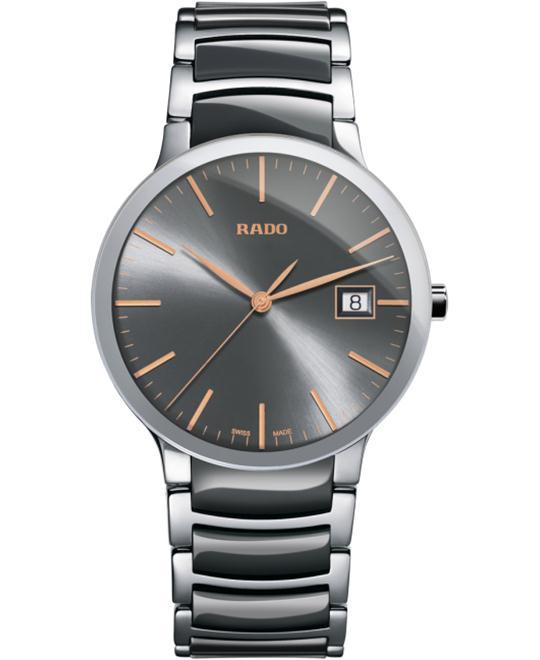đồng hồ Rado Centrix Quartz L Ceramic 38mm