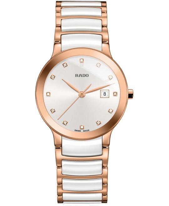 đồng hồ Rado Centrix Quartz S Ceramic 28mm