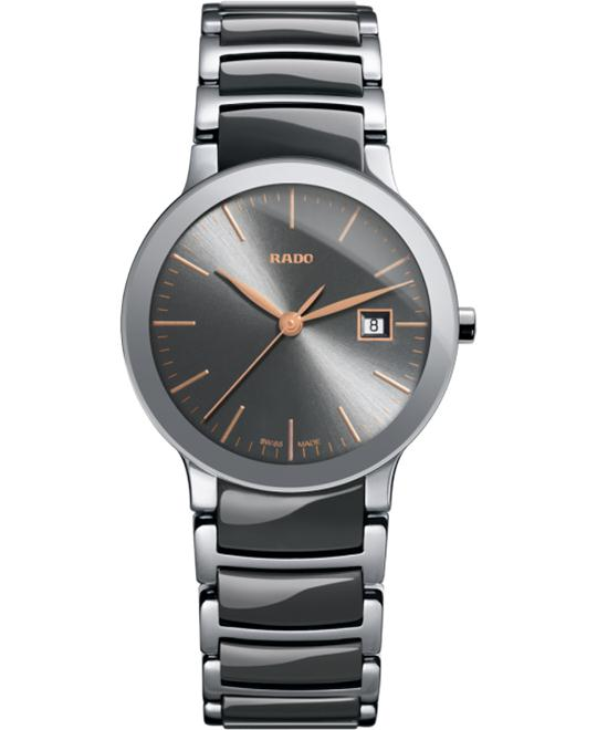Rado Centrix Quartz S Ceramic Watch 28mm