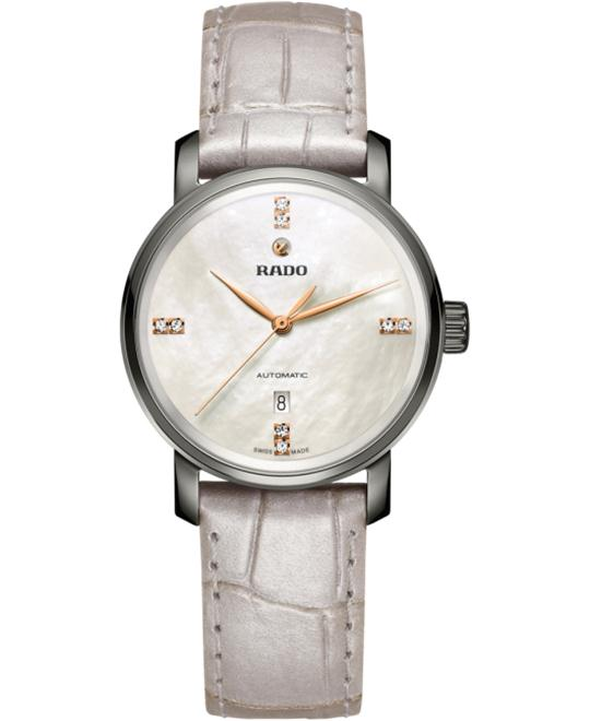 Rado DiaMaster Diamonds Automatic M Watch 33mm
