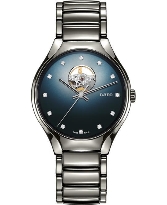 đồng hồ ceramic Rado True Secret Diamond Watch 40mm