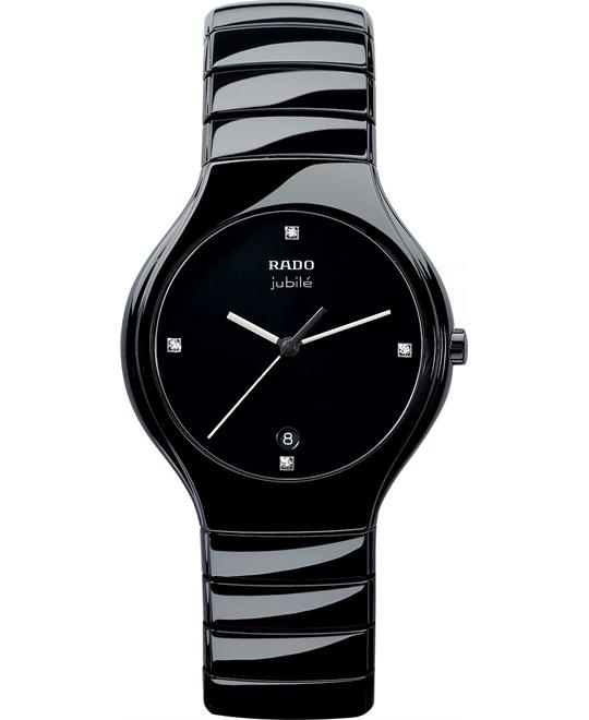Rado True Jubile Diamond Ceramic Watch 40mm