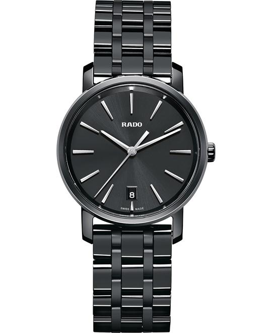 Rado Diamaster High-Tech Ceramic Watch 33mm