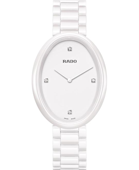 Rado Women's Swiss Diamond - Ceramic Watch 33mm