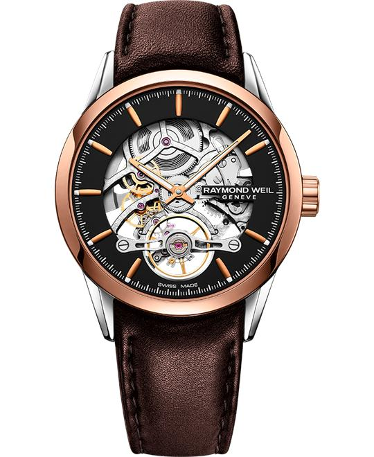 đồng hồ Raymond Weil Freelancer Skeleton Automatic 42