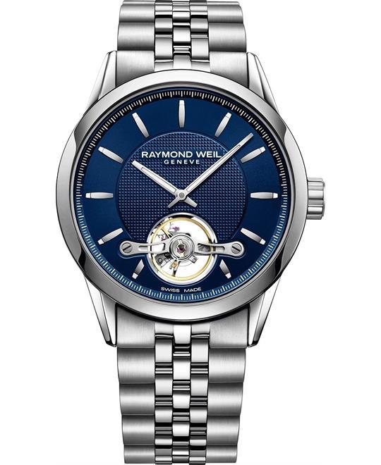 đồng hồ nam automatic Raymond Weil Freelancer Black Watch 42mm