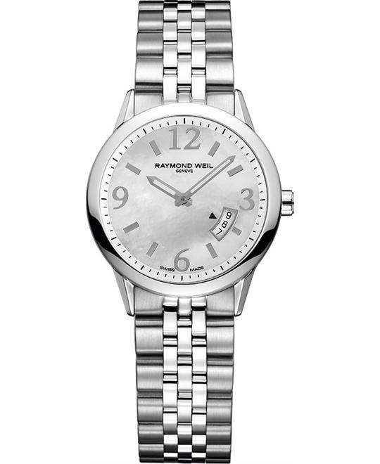 Raymond Weil Freelancer Mother of Pearl Watch 29mm