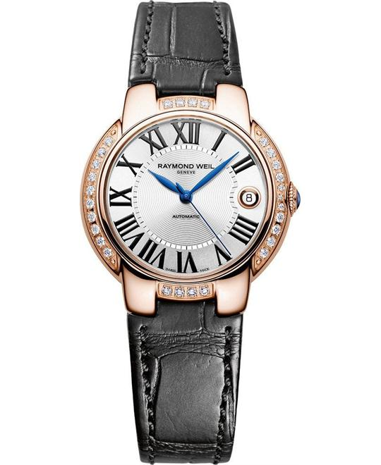 RAYMOND WEIL Jasmine Automatic Diamond Watch 35mm