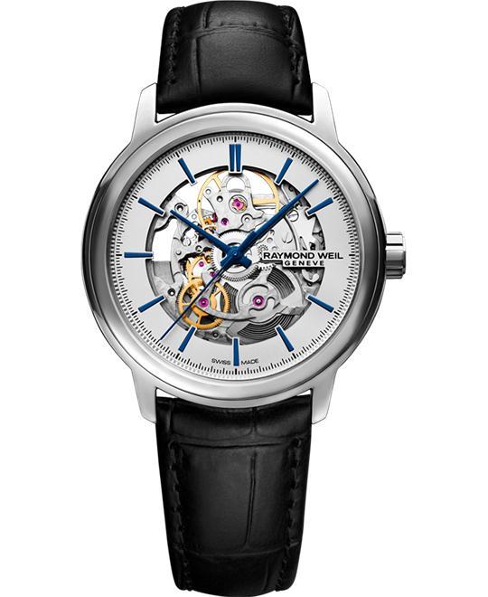 đồng hồ Raymond Weil Maestro Automatic Skeleton 39mm