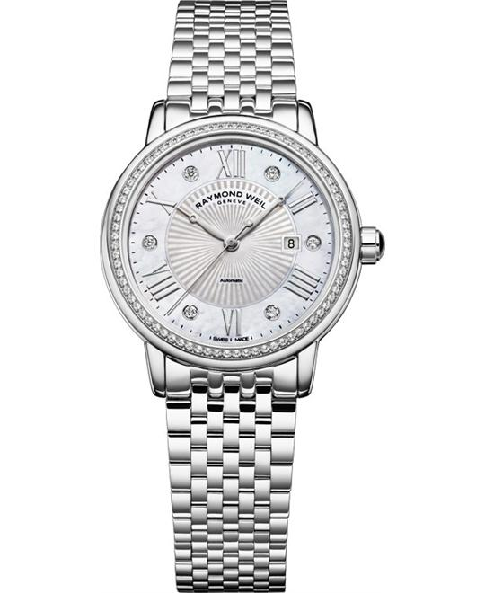 RAYMOND WEIL Maestro Diamond Automatic Watch 30mm