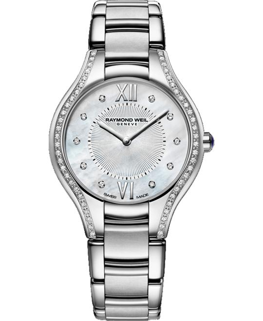 RAYMOND WEIL Noemia 62 Diamond Watch 32mm