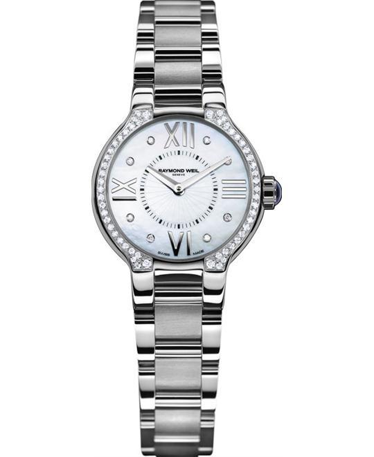 dong ho RAYMOND WEIL Noemia Diamond-Studded Watch 27mm