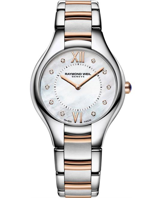 đồng hồ Raymond Weil Noemia Diamond Watch 32mm