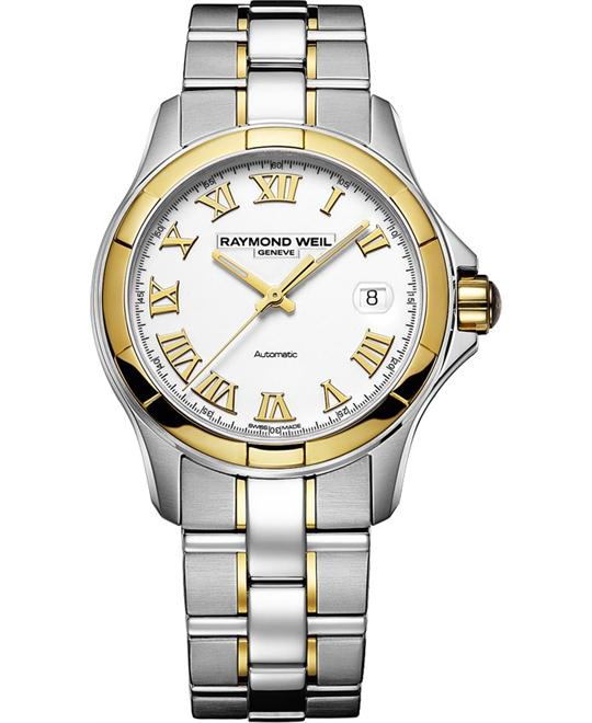 RAYMOND WEIL Parsifal Automatic 18 kt Watch 39mm