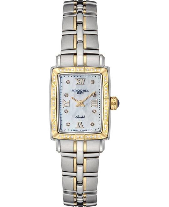 RAYMOND WEIL Parsifal Diamond Watch 20.7x24.7mm