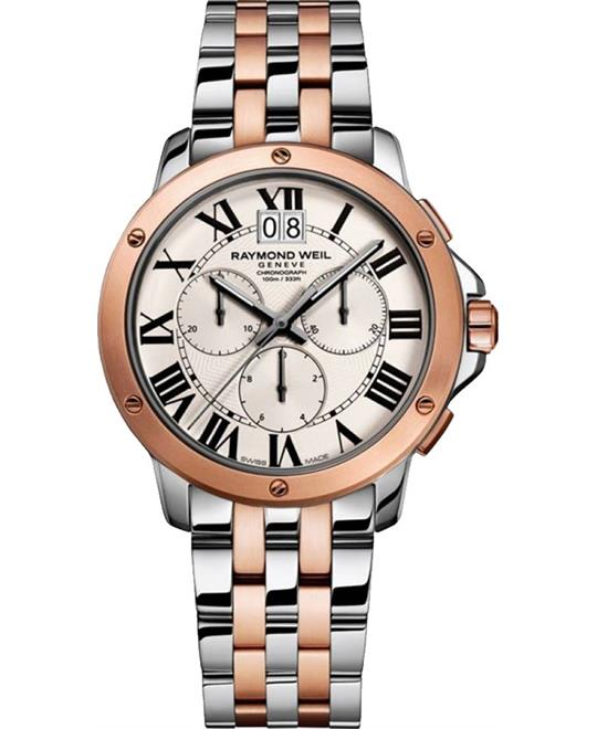 Raymond Weil Tango 4891-SP5-00660 Mens Watch 40mm