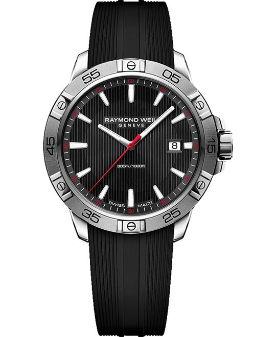 RAYMOND WEIL Tango Black Sports Watch 41mm