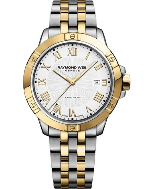 RAYMOND WEIL TANGO DATE WATCH 41MM