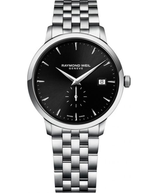 RAYMOND WEIL Toccata Black Men's Watch 39mm