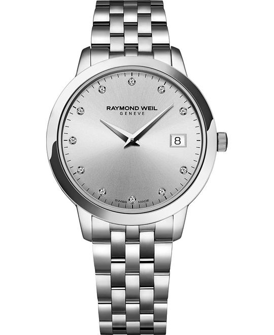RAYMOND WEIL Toccata 11 Diamonds Watch 34mm