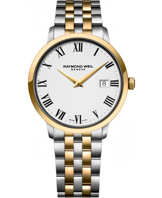 RAYMOND WEIL Toccata White Watch 39mm