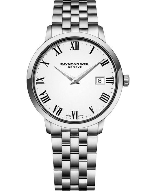 RAYMOND WEIL Toccata White Watch 42mm
