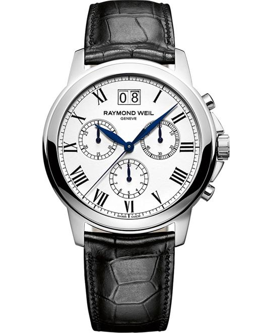 Raymond Weil Tradition Chronograph Watch 39mm