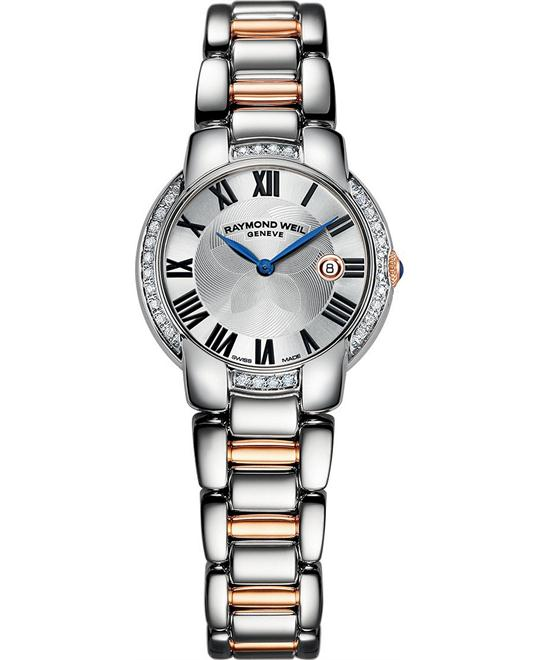 RAYMOND WEIL Jasmine Swiss Diamond Watch 29mm