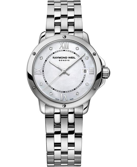 RAYMOND WEIL Tango Swiss Diamond Watch 28mm