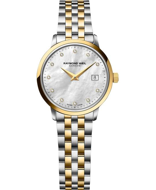 RAYMOND WEIL Toccata Diamond Swiss Watch 29mm