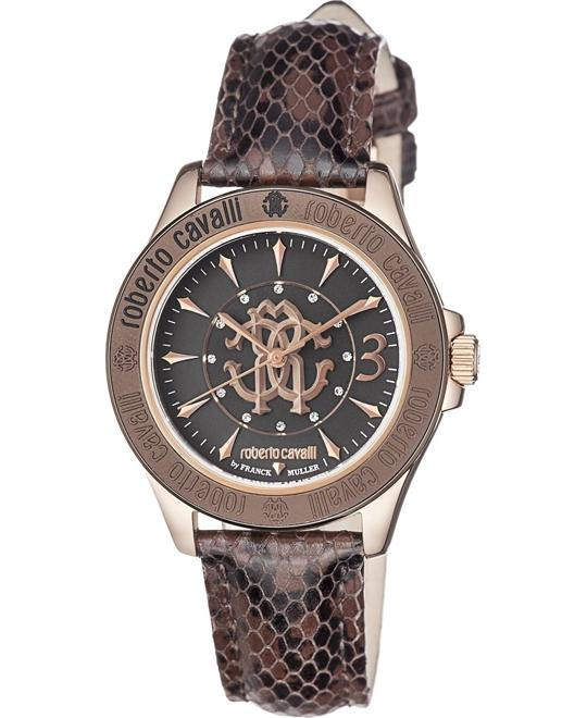 Roberto Cavalli By Franck Muller Watch 37.2mm