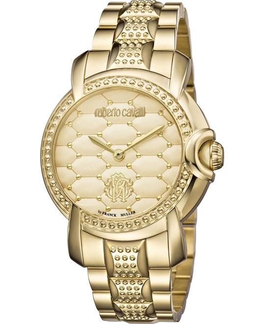 Roberto Cavalli Quilted Watch 36mm