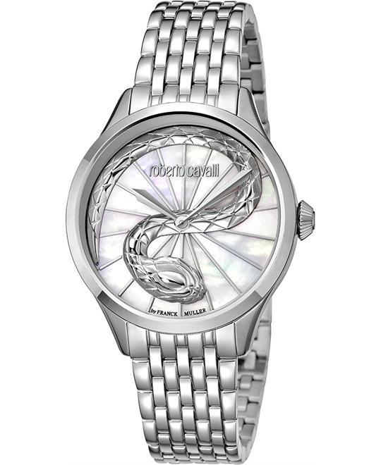 Roberto Cavalli RC-35 Mother of Pearl Watch 34