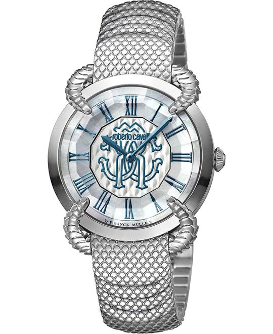 Roberto Cavalli RC-37 Blue Mother of Pearl Watch 34mm