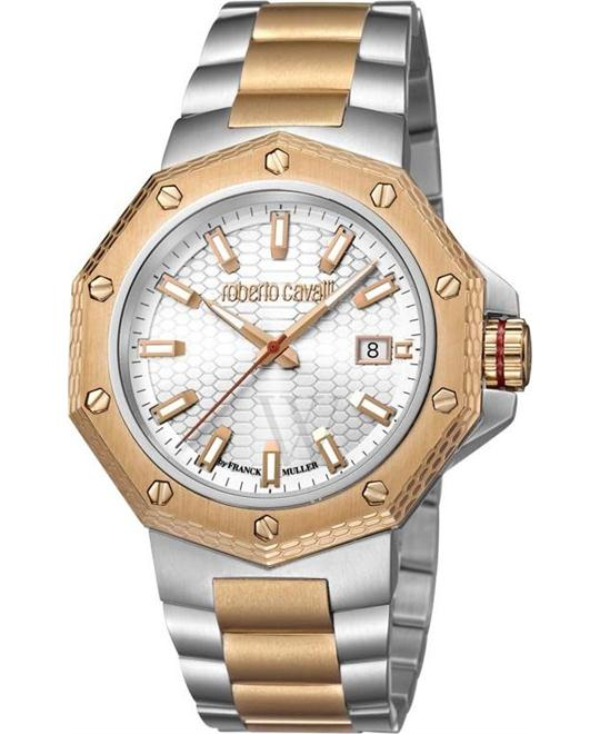 Roberto Cavalli RC-40 White Watch 43
