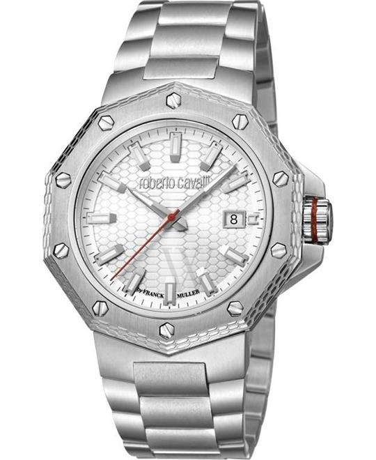 Roberto Cavalli RC-40 White Watch 43mm