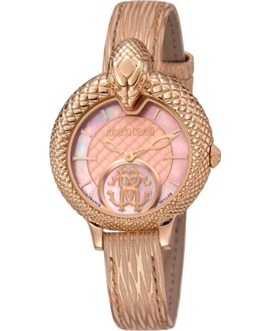 "ROBERTO CAVALLI ""SNAKE"" WATCH 34MM"