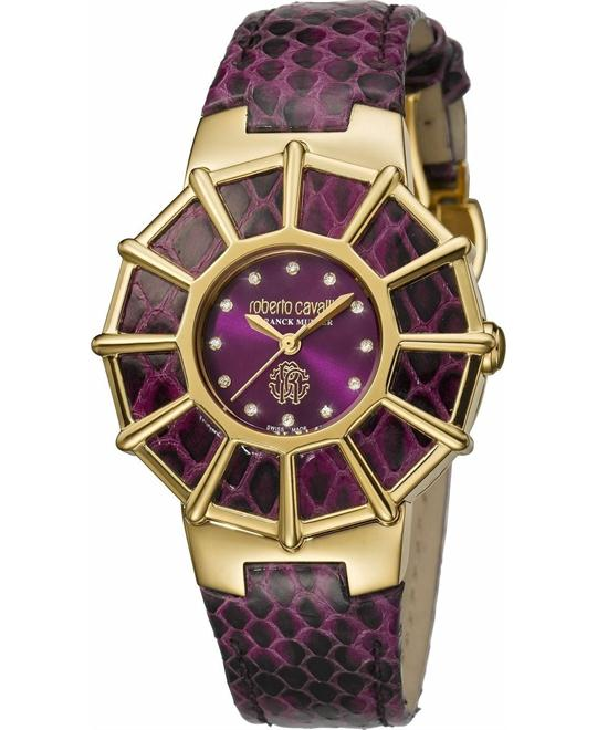 Roberto Cavalli Women Webbing Watch 37.5