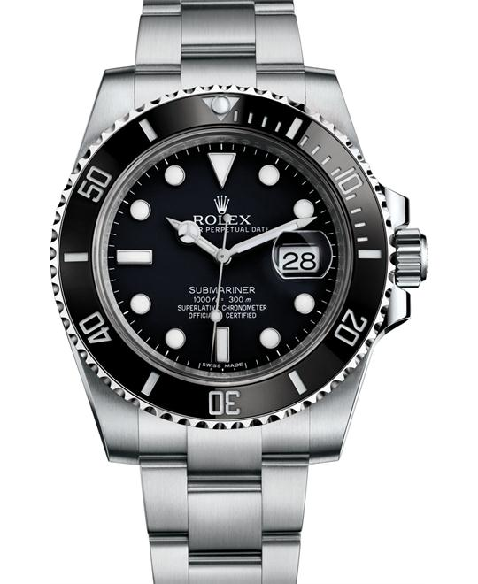 Rolex 116610LN  Submariner Date Black Dial Men's Watch 40mm