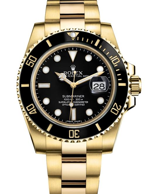 Rolex 116618ln-0001 Submariner Watch 40m