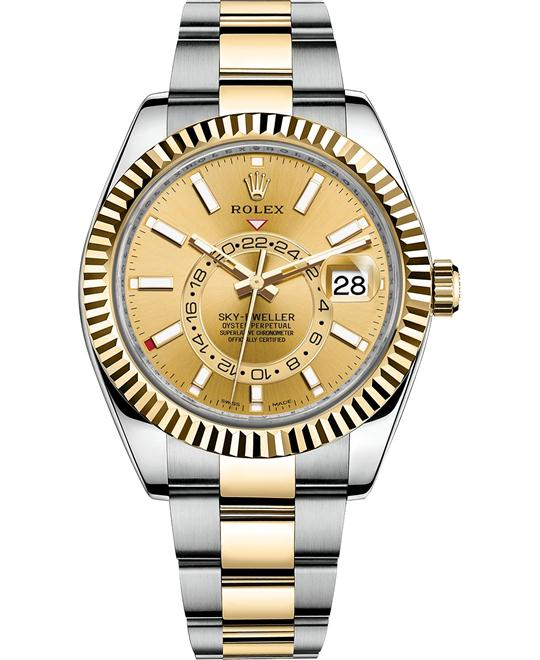 Rolex 326933 Sky Dweller Watch 42mm