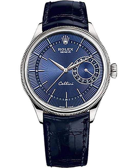 ROLEX Cellini 50519-0011 Guilloche Automatic Watch 39mm