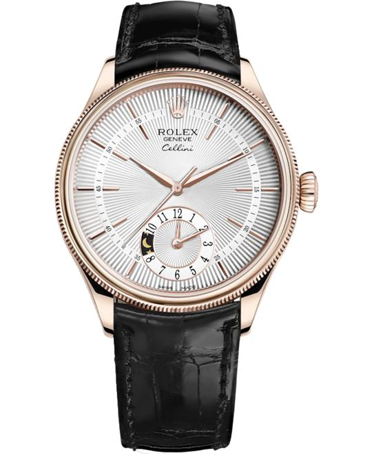 Rolex CELLINI 50525-0009 DUAL TIME 39MM