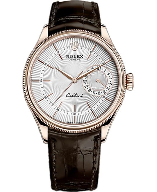 ROLEX CELLINI DATE 50515-0008 WATCH 39MM