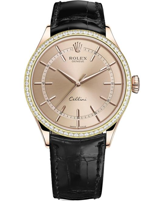 ROLEX CELLINI 50705RBR-0010 WATCH 39