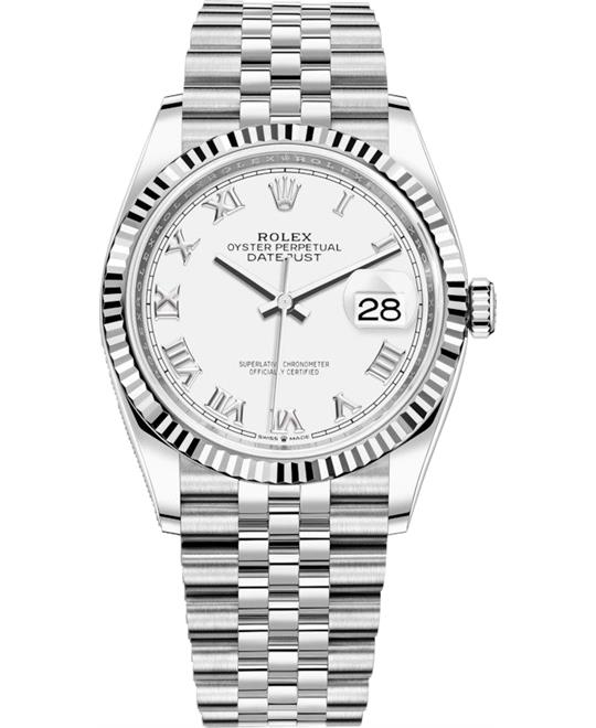 ROLEX DATEJUST 126234-0025 WATCH 36