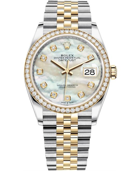 ROLEX DATEJUST 126283RBR-0009 WATCH 36