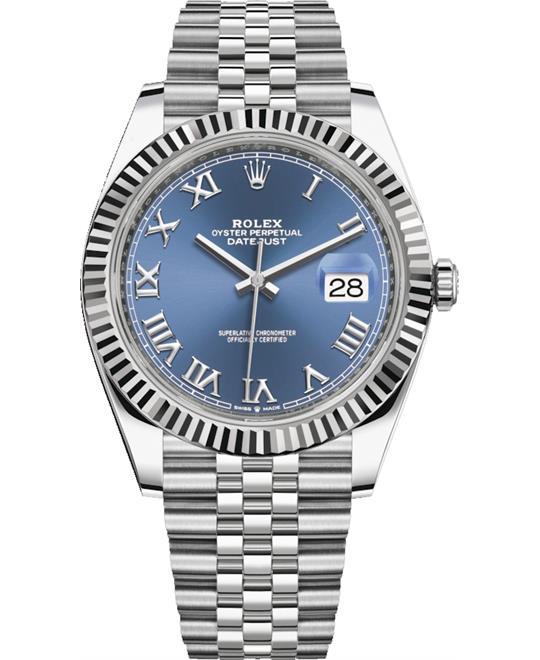 đồng hồ nam automatic Rolex DateJust 126334-0026 Watch 41mm