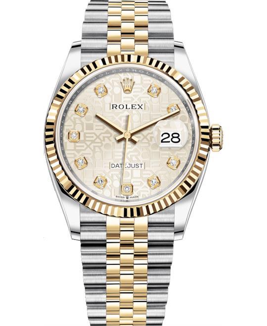 đồng hồ nam automatic Rolex Datejust Watch 36mm